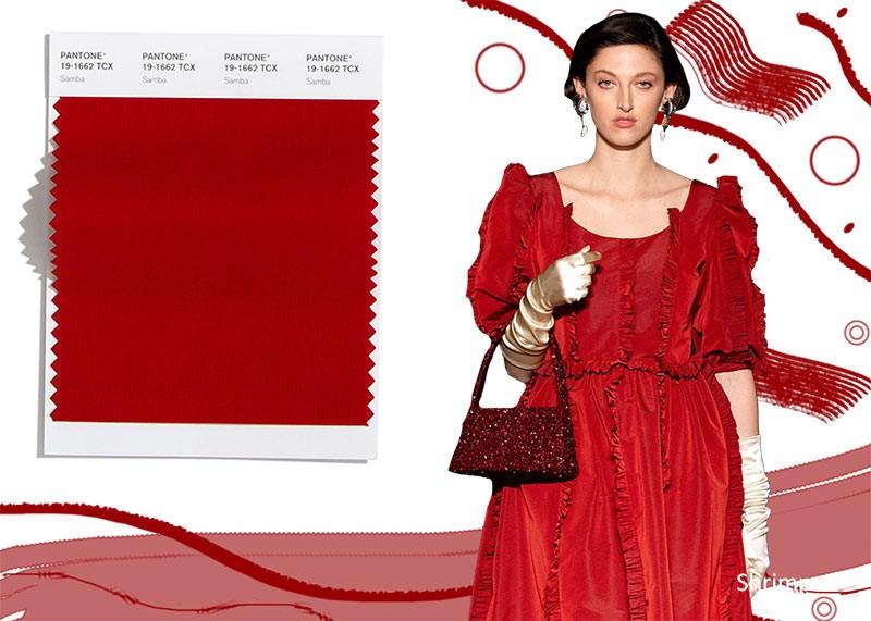 Модные цвета осень-зима 2020-2021 Самба
