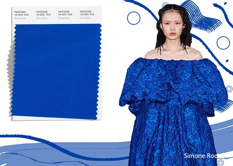 Pantone осень / зима 2020-2021 Цветовые тенденции: сильный синий