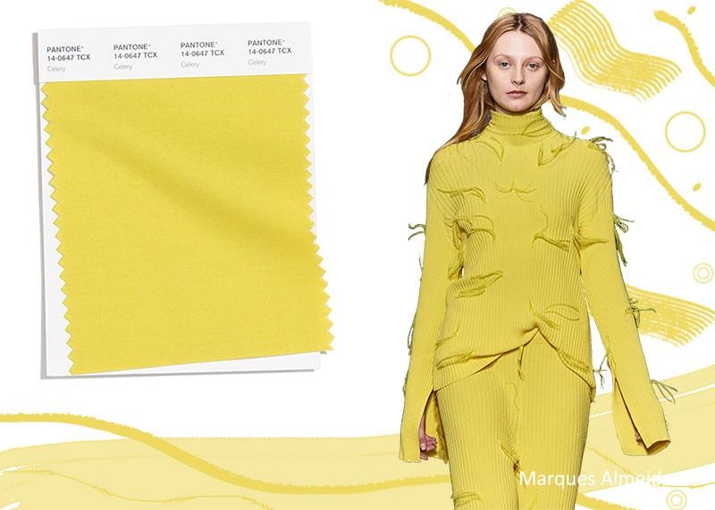Модные цвета осень-зима 2020-2021 сельдерей