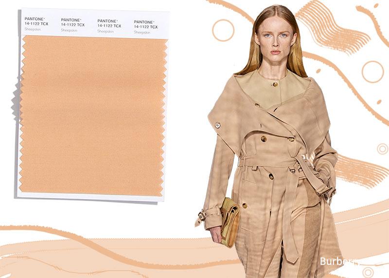 Модные цвета осень-зима 2020-2021 Овчина