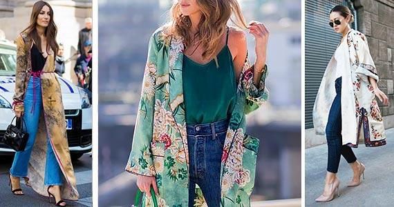как носить платье-халат кимоно