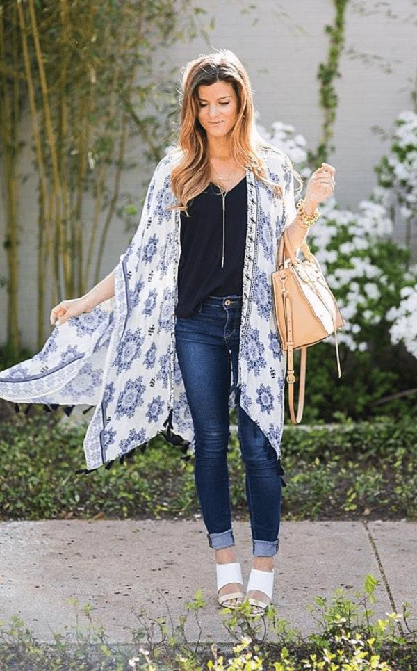 платье халат кимоно