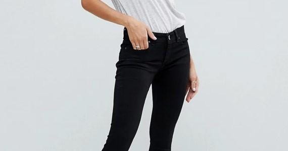 черные джинсы с чем носить