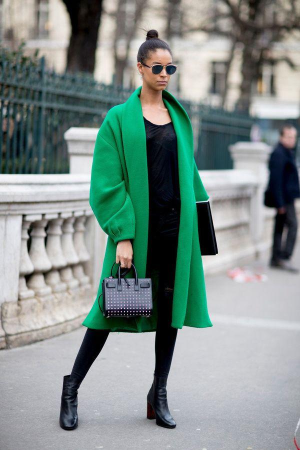 сумка под зеленое пальто