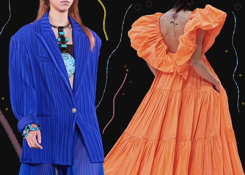 модные цвета весна-лето 2020