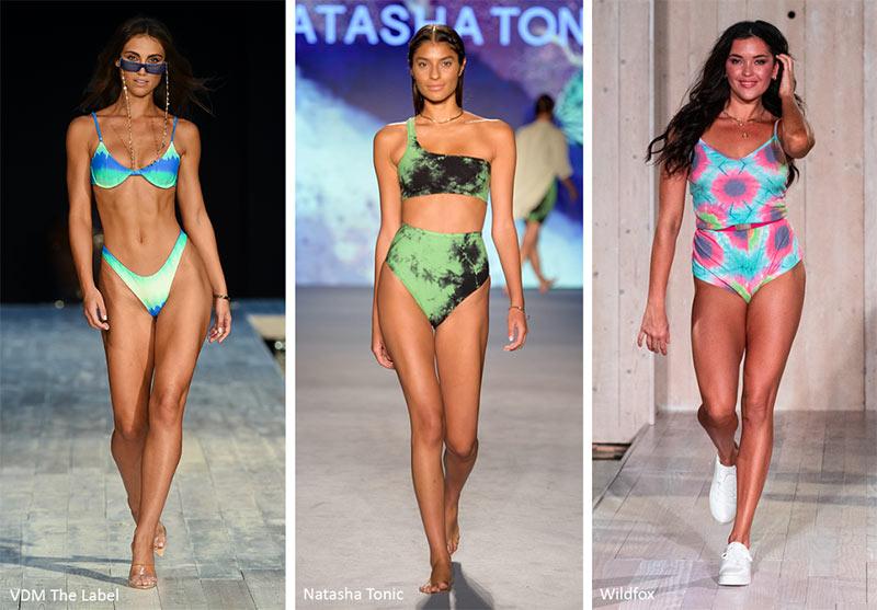 Модные купальники 2020 Тай-Дай