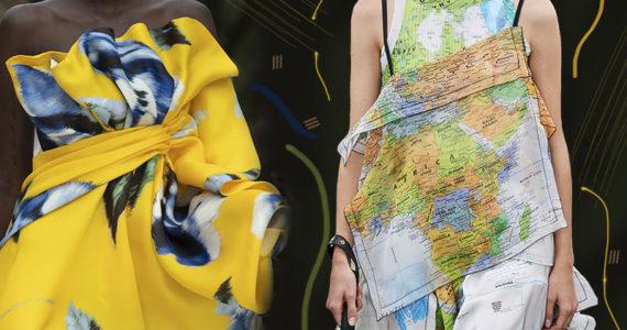 Модные принты весна-лето 2020 в одежде