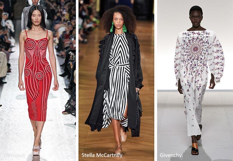Модные принты весна-лето 2020 в одежде Симметричные Узоры (Symmetrical Patterns)