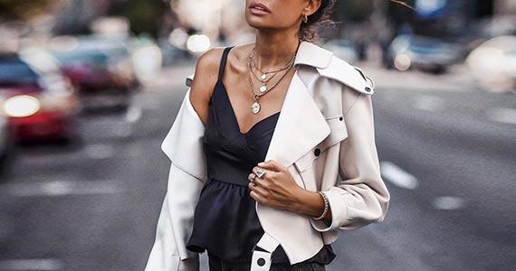 Белая кожаная куртка - с чем носить, модные фото-образы