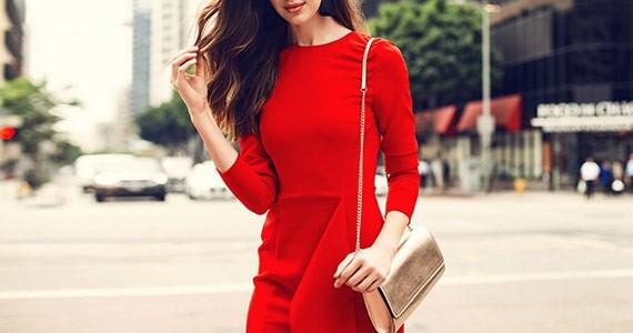 красный цвет в одежде сочетание