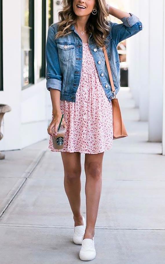образ с коротким платьем
