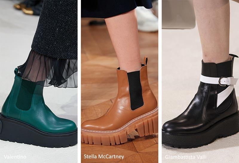 Модная обувь Осень-Зима 2020-2021: Ботинки Челси