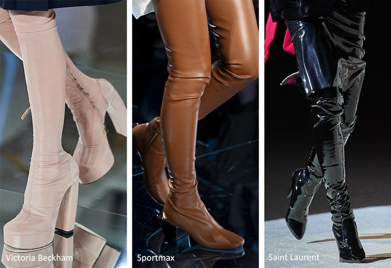 Тенденции обуви: сапоги до бедра