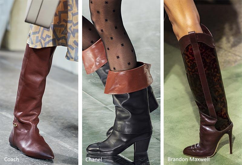 Модная обувь осень-зима 2020-2021: Конные сапоги