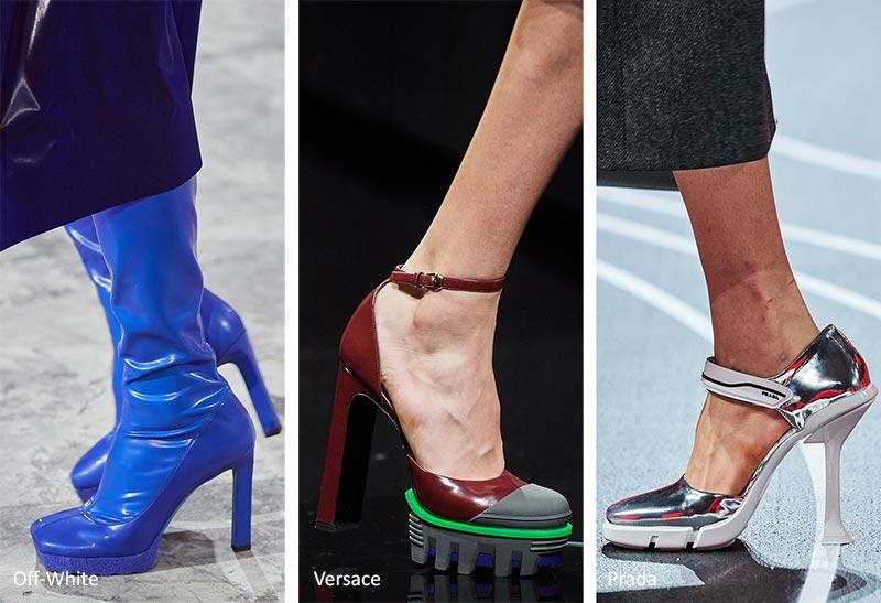Осень / Зима 2020-2021 Тенденции обуви: ботфорты