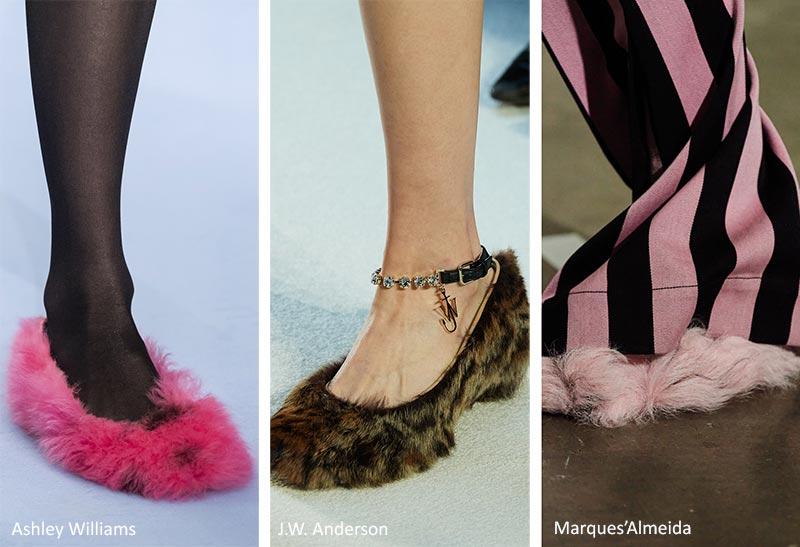 Модная обувь осень-зима 2020-2021: Тапочки