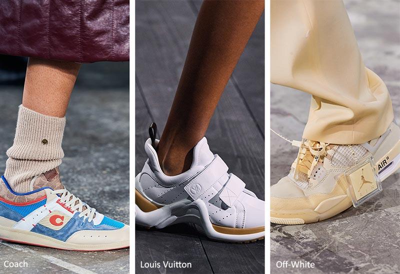 Тенденции обуви: кроссовки
