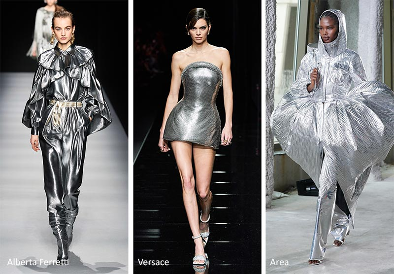 Модные тренды цвета 2020-2021 - Серебристый Металлик