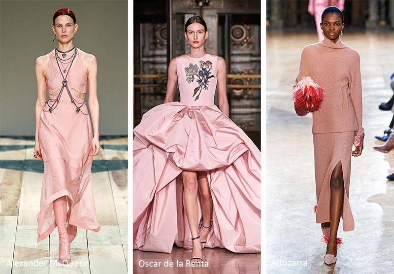 Модные тренды цвета осень-зима 2020-2021 - пыльный розовый