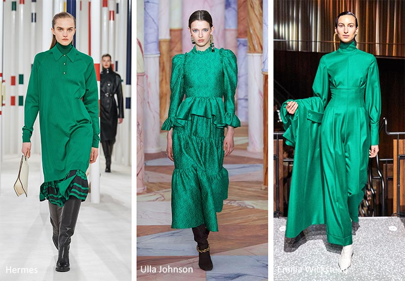 Цветовые тренды - зеленый ультрамарин