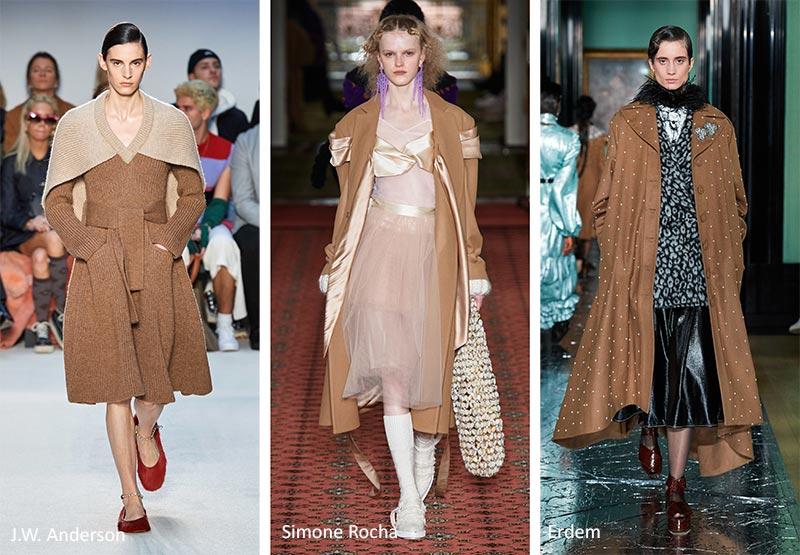 Модные тренды цвета осень-зима 2020-2021 - Рыжевато-Коричневая Береза