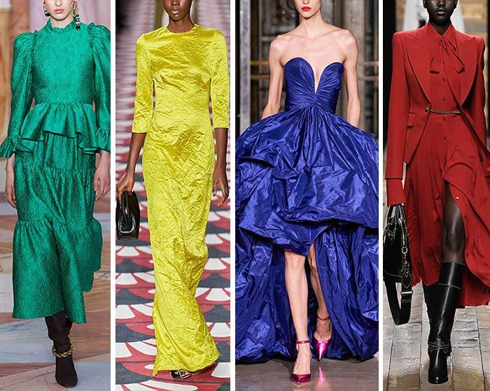 Модные цвета осень-зима 2020-2021 в одежде фото