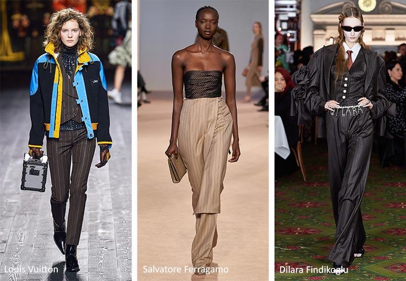 Модные принты Осень- Зима 2020-2021: полоски
