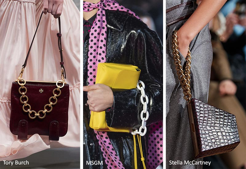 Осень / Зима 2020-2021 Тенденции сумок: толстые сумки
