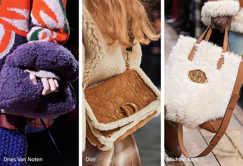 Сумочка осень / зима 2020-2021: сумки из овечьей шерсти