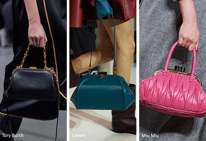 Тенденции сумочки осень / зима 2020-2021: винтажные сумки для монет