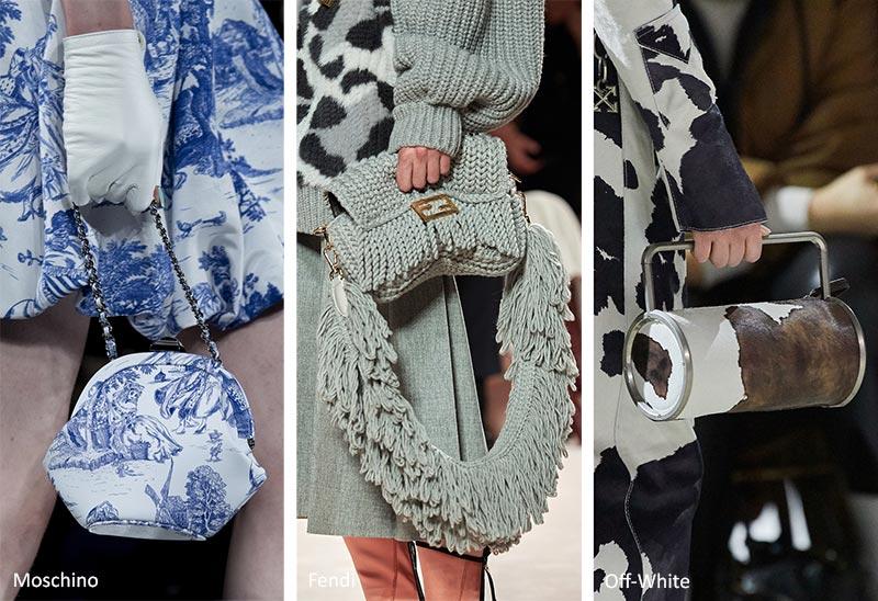 Тенденции сумочки осень / зима 2020-2021: сочетание сумок с нарядами