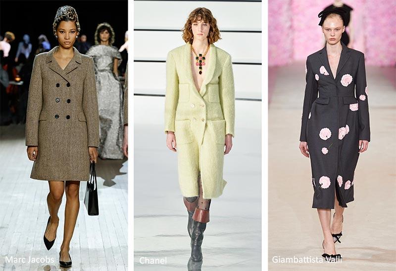 Модные тенденции (тренды) осень-зима 2020-2021 - пальто по фигуре