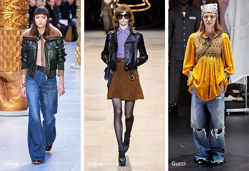 Тенденции моды осень-зима 2020-2021: мода 60-х и 70-х годов