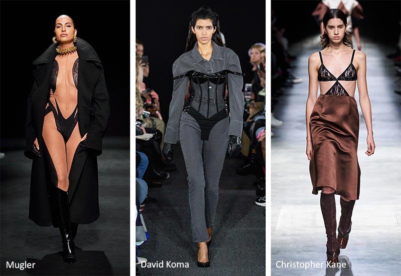 Осень / Зима 2020-2021 Модные Тенденции: Будуар Интимная Одежда