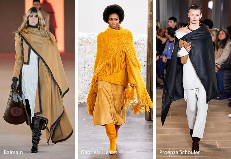 Осень / Зима 2020-2021 Модные тенденции: одеяла