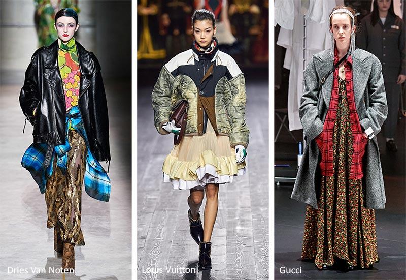 Модные тенденции (тренды) осень-зима 2020-2021 - сочетание