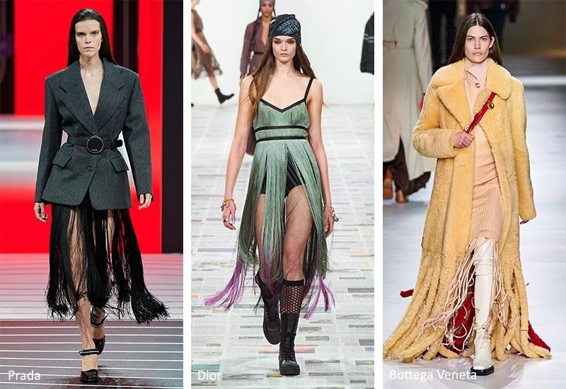 Модные тенденции: бахрома
