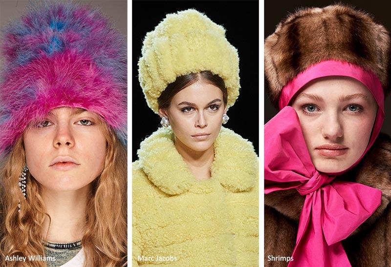 Модные шапки осень-зима 2020-21 - теплые и пушистые