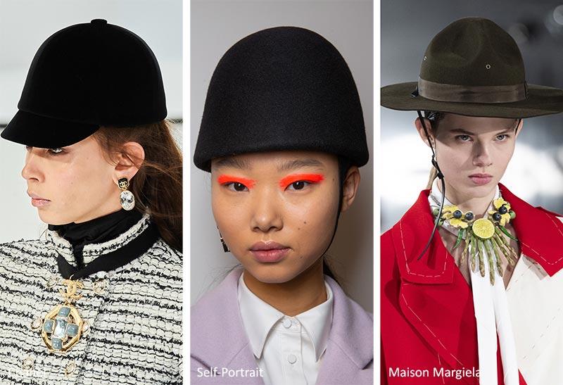 Осень / Зима 2020-2021 Модные тенденции: Конные Шапки