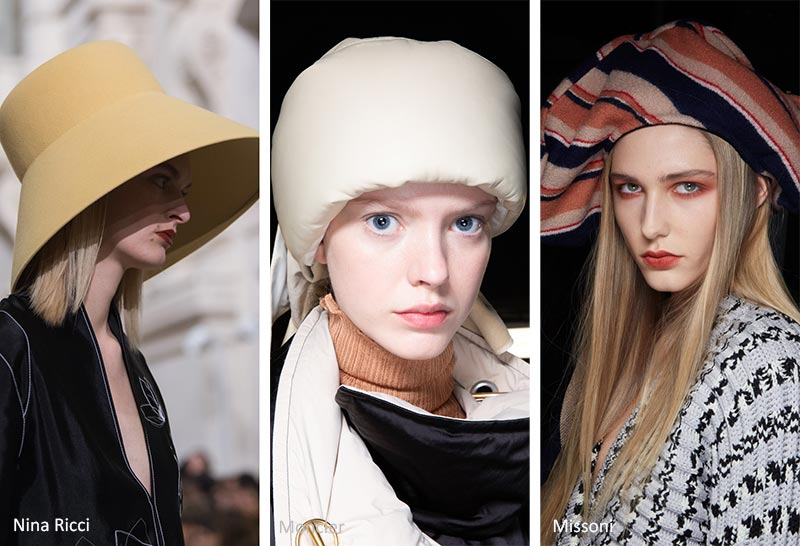Осень / Зима 2020-2021 Модные тренды: Большие шляпы
