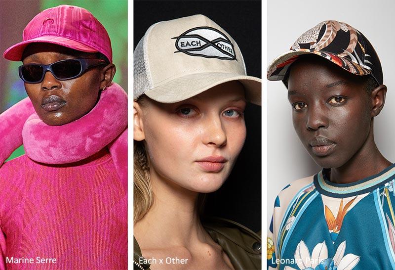 Осень / Зима 2020-2021 Модные шапки: Бейсболки