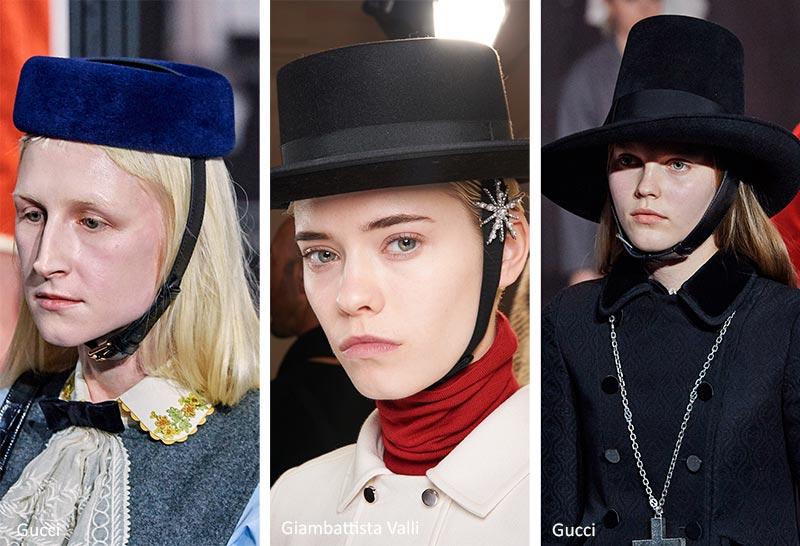 Шляпы с подбородочными ремнями