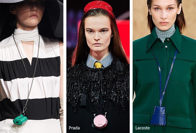 Модные аксессуары осень-зима 2020-2021 Тенденции в ювелирном деле: сумки с колье