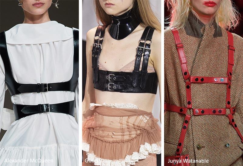 Модные украшения осень-зима 2020-2021: Ремни